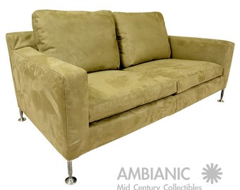 Mid Century Modern B & B Italia Harry Sofa or Love Seat Sofa Antonio Citterio