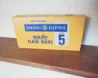 Vintage GE Sure-Fire Flash Bulbs #5 Camera