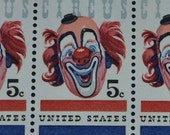 10 Mint US stamps #1309 1962 American Circus Issue