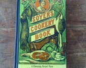Journal, Soyer's Cookery Book vintage cooking journal