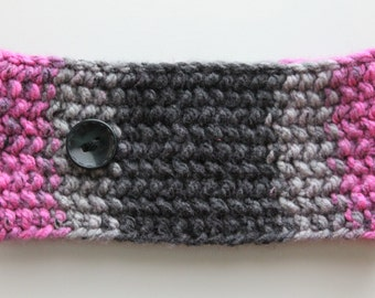 Black Raspberry Earwarmer