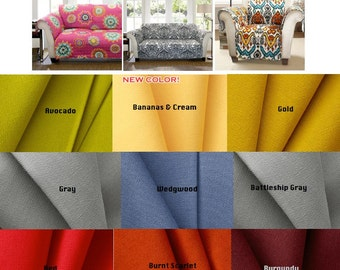 Furniture-Protector-Throw-Protector-Pet-Protector Pick A Fabric OR Send Your Fabric