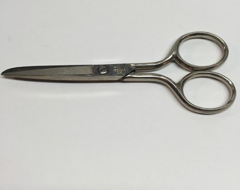 Vintage Clauss Scissors Fremont  Small 5 inch number 614