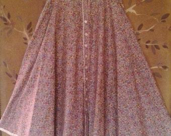 80s Gunne Sax prairie skirt by Jessicas Gunnies