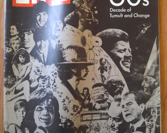 Life Magazine The 60s Decade of Tumult and Change, special double issue, Dec 26th 1969
