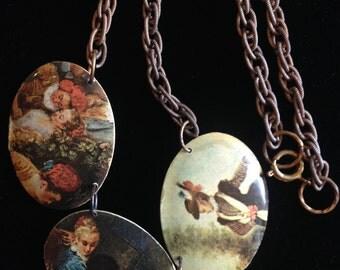 Renaissance Paintings Necklace