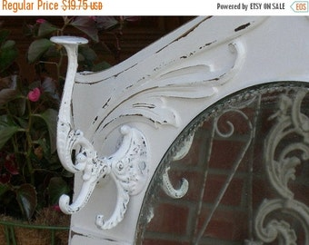 VICTORIAN Style Hook In Painted Color Of Your Choice Distressed Shabby Chic For Robe Clothes Hat Coat Towel Jewelry etc.