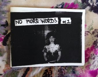 No More Words #1