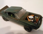 Scale Model Car Classicwrecks Bullitt Ford Mustang