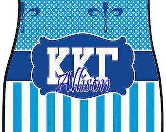 Kappa Kappa Gamma Personalized Car Mats