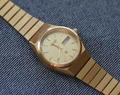 Vintage Citizen womens quartz watch gold tone