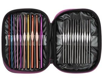 1 set(22 pcs) colorful Crochet needle, crochet hook set 10043550