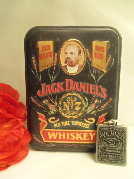 Sale Super Jack Daniel S Small Hinged Whiskey Metal Tin
