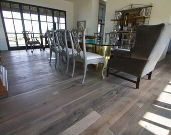 Craftsman Fumed Oak Flooring Hardwood Pre-Finished Oak Old Growth Floor T&G