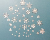 "Snowflakes, 28, White, Scrapbooking, Cards, Biggest 1"", Cardstock"