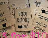 3 for 10 cards of your choice bundle pack/sarcastic cards/greeting cards/funny greeting cards/bitter cards/f*ck this sh*t/birthday card/love