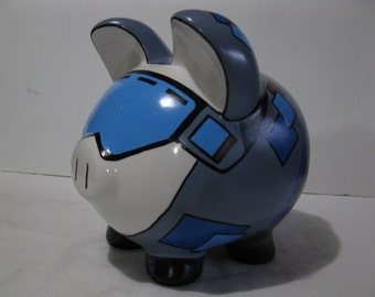 Snowboarding Piggy Bank, Personalized piggy bank, Snow, Boys - MADE TO ORDER