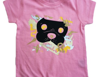 SALE 6m The Picasso Shirt |Light Pink | unique | one of a kind | kids style | Kids Shirt | Toddler shirts | Girl shirt | Eclectic