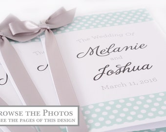 Wedding Booklets - Beautiful Printed Wedding Books - Wedding Stationery - Wedding Programs - PRINTED BOOKS