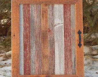 Barnwood Spice Cabinet or Medicine Cabinet