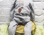 Little Acorn Long sleeved/legged Baby Grow