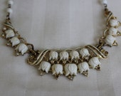 Corocraft Thermoset Tulip Necklace