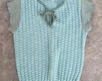 Vintage 70s lightweight sweater top as is