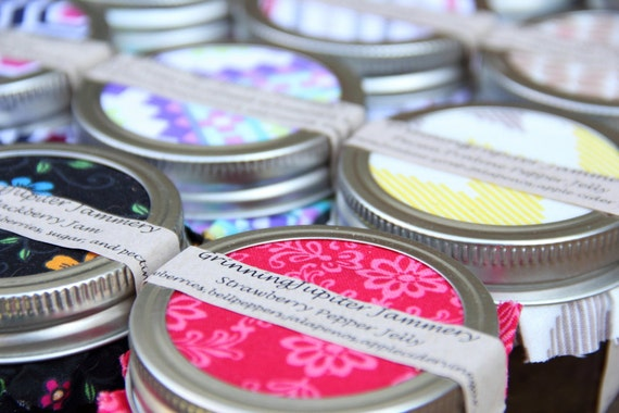 Party favors Homemade Jams and Jellies - 4oz jars/ 20 count
