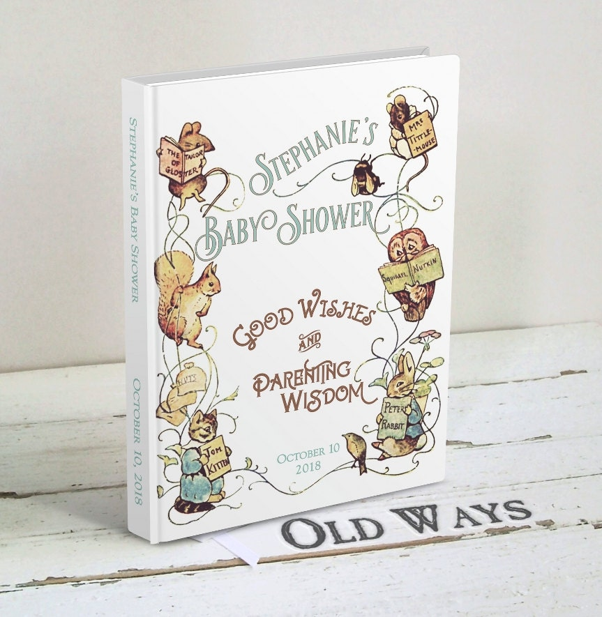 Beatrix Potter Baby Shower Invitations – gangcraft.net