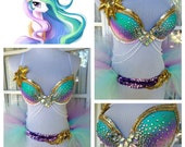 Celestia Costume | Rave Outfit -  36B/34C - My Little Pony