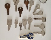 Old Keys 15 old Vintage Keys