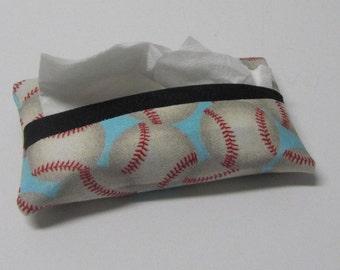 Baseball Pocket Tissue Cozy-Ready to Ship