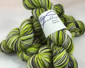 Zombie's Ten: Superwash Strong Heart Self Striping Sock Yarn
