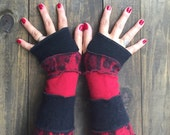 Arm Warmers-Made from Recycled Sweaters/ Fingerless Gloves