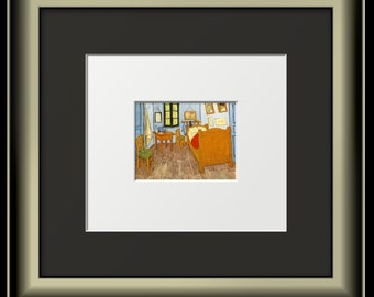 Print of Fabulous Van Gogh Painting Interior
