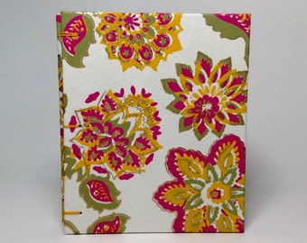 Made to Order - Pink Gilded Flower Journal