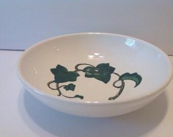 "Metlox Ivy 7"" Bowl, Poppytrail California Pottery"