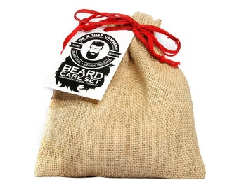 SPECIAL Edition Beard Care Set, Gift Sets, Gifts For Him, All Natural Beard Oil and Beard Wash, Made in Ireland, BCS