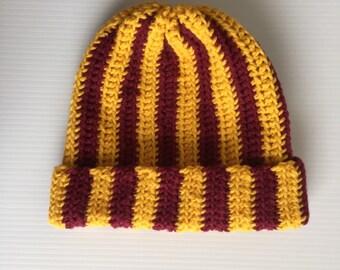 Crochet Stripe Hat