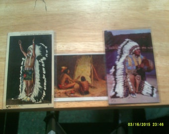 Vintage Indian Post Cards
