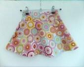 Girl's Skirt, Girl's Circle Skirt, Girl's Flared Skirt, Girl's Summer Skirt, Summer Clothing, Kids Fashion, Toddler Skirt, Girls Clothing