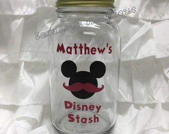 Disney stash jar