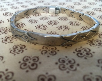 Mexican Made Sterling Silver Bracelet