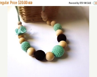 CIJ SALE 25% Nursing Necklace Necklace/Teething Necklace-Breastfeeding Necklace-Mother's day