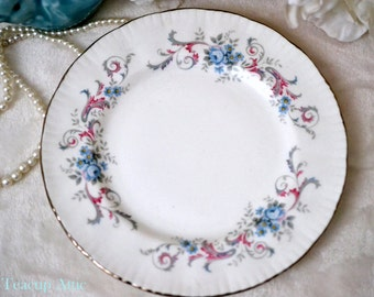 Paragon Romance Bread and Butter plate, English Bone China Bread and Butter Plate, Replacement China, ca. 1950