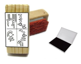 Bassoon Fingering Rubber Stamp -    A great teacher and student aid. ( Loree,, Buffet, Reed, Musician)