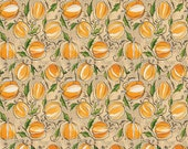 Spooky Town - Punkin Patch in Ivory - Cori Dantini for Blend Fabrics - 112.110.04.1 - 1/2 Yard
