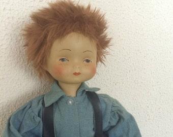 """Vintage 15"""" boy doll"""