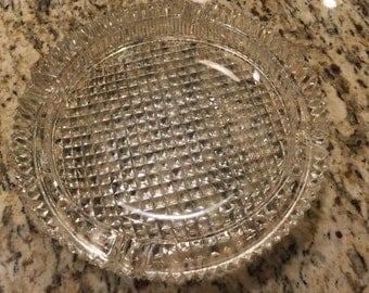 Ash trays, Crystal, Ash tray, vintage ashtray, Crystal ash tray, crystal dishes, Crystal