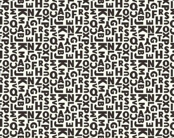 Uppercase by Janine Vangool for Windham Fabrics - Letters (41827-8) - 1 Yard